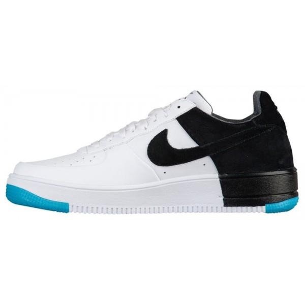 Nike AF1 Ultraforce Low Herren-Basketballschuh Weiß/Schwarz/Dunkel Turquoise/Weiß