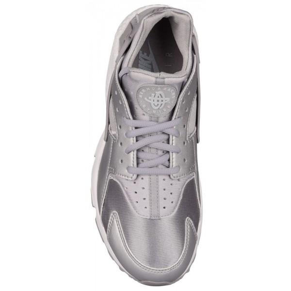 Nike Air Huarache Damen-Laufschuhe Metallic Silber/Matte Silber/Pure Platinum