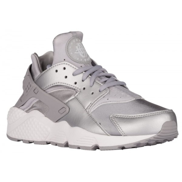 Nike Air Huarache Damen-Laufschuhe Metallic Silber...