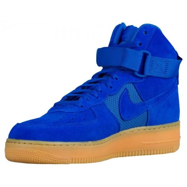 Nike Air Force 1 High LV8 Herren-Basketballschuh Hyper Cobalt/Gum Hellbraun/Hyper Cobalt