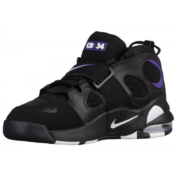 Nike Air CB 34 Herren-Basketballschuh Schwarz/Varsity Violett/Weiß