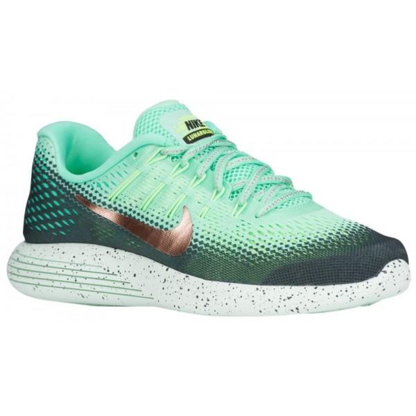 Nike LunarGlide 8 Damen-Laufschuhe Grün Glow/Metallic Rot Bronze/Hasta/Ghost Grün