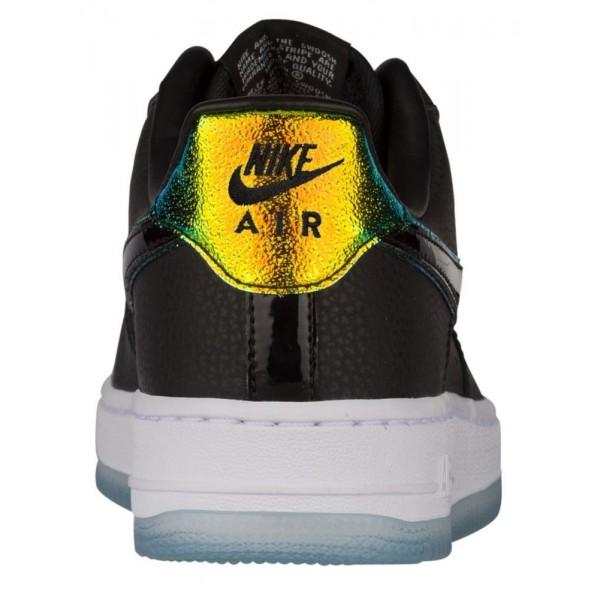 Nike Air Force 1 '07 Low Damen-Basketballschuh Schwarz/Schwarz/Pure Platinum