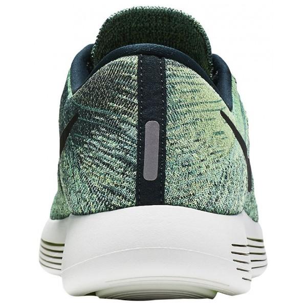 Nike LunarEpic Low Flyknit Herren-Laufschuhe Seaweed/Ghost Grün/Summit Weiß/Schwarz
