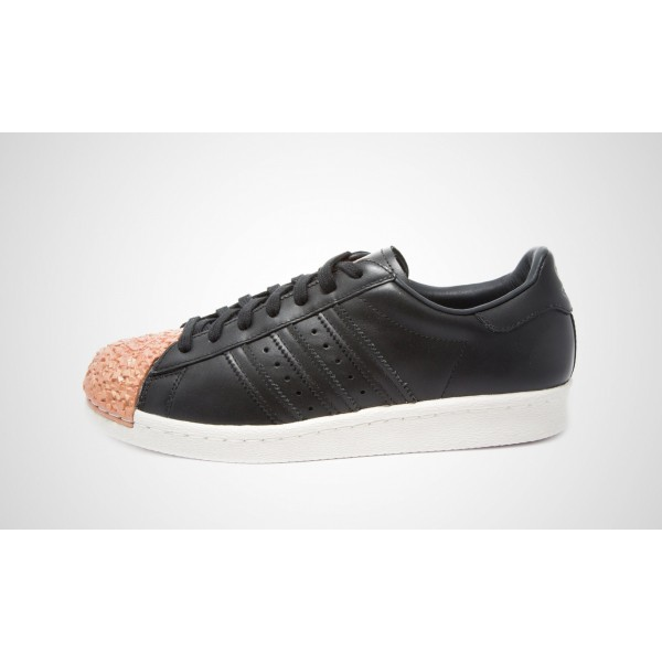 Adidas Superstar 80S Metal Toe TF Damen (Schwarz/c...