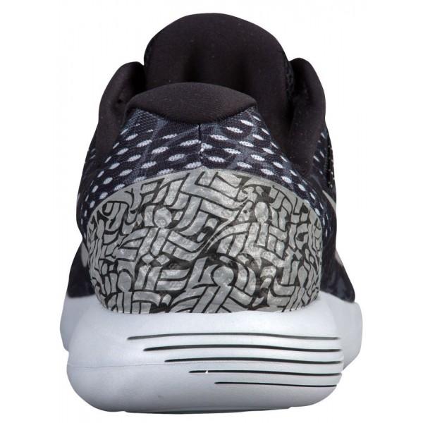 Nike LunarGlide 8 Herren-Laufschuhe Schwarz/Dunkelgrau/Weiß/Reflective Silber