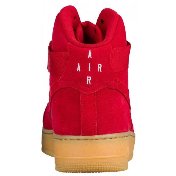 Nike Air Force 1 High LV8 Herren-Basketballschuh Gym Rot/Gum Hellbraun/Gym Rot