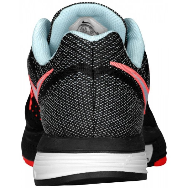 Nike Zoom Vomero 10 Damen-Laufschuhe Ice/Schwarz/Hot Lava/Weiß