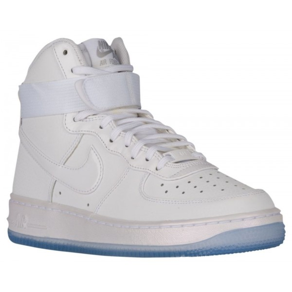 Nike Air Force 1 High Damen-Basketballschuh Weiß/...