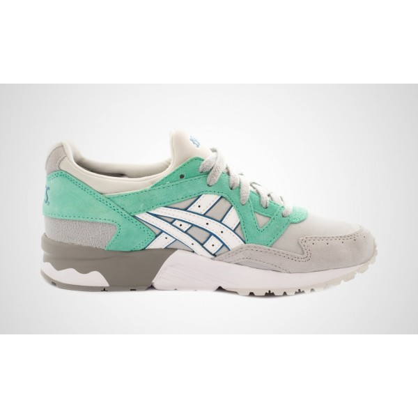 "Asics Damen Gel-Lyte V ""Core Plus Pack - teal"" Hell Grau/Weiß H6S5L-1301"