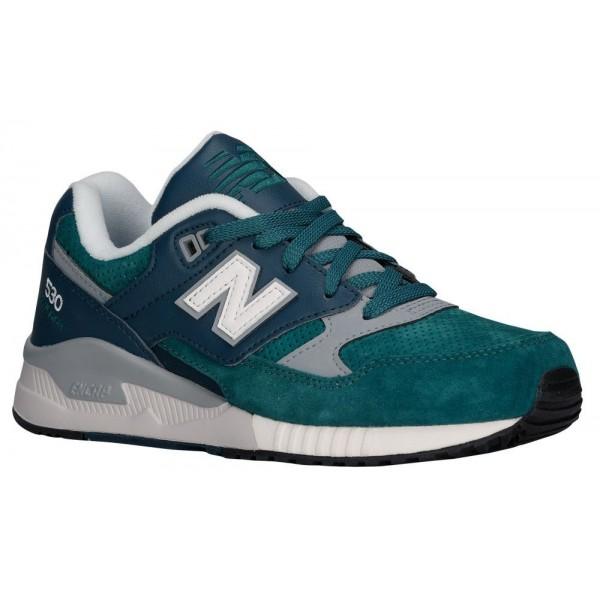 New Balance 530 Damen-Laufschuhe Grün/Grau
