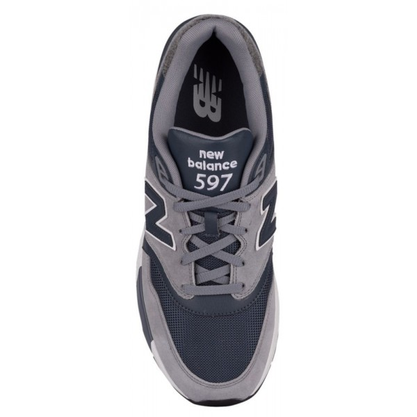 New Balance 597 Herren-Laufschuhe Gunmetal/Thunder