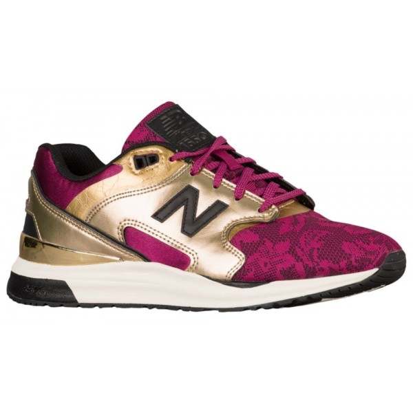 New Balance 1550 Damen-Laufschuhe Gold/Deep Jewel
