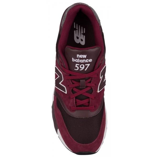 New Balance 597 Herren-Laufschuhe Sedona Rot/Supernova Rot