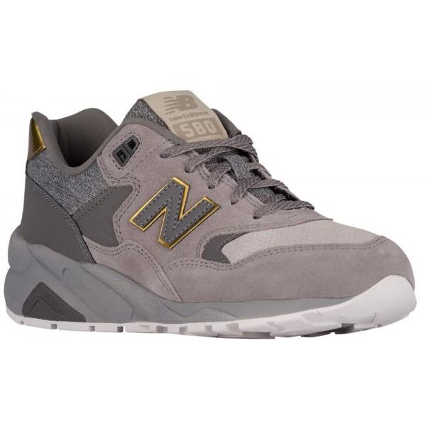 New Balance 580 Damen-Laufschuhe Grau/Gold