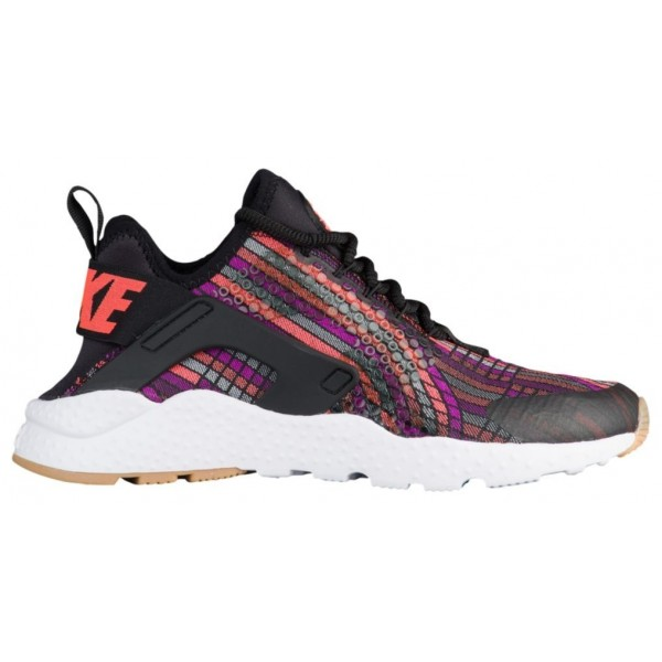 Nike Air Huarache Run Ultra Damen-Laufschuhe Schwa...