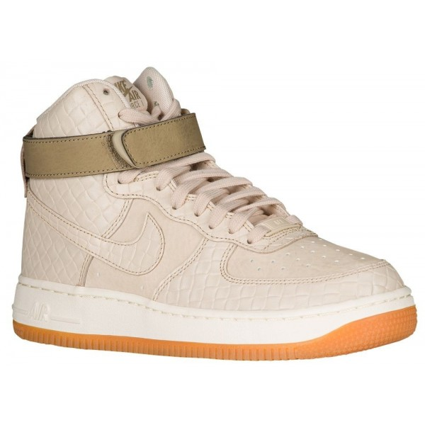 Nike Air Force 1 High Damen-Basketballschuh Oatmea...