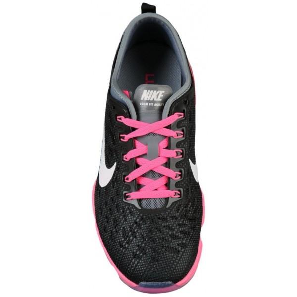 Nike Zoom Fit Agility Damen-Trainingsschuh Schwarz/Rosa Pow/Cool Grau