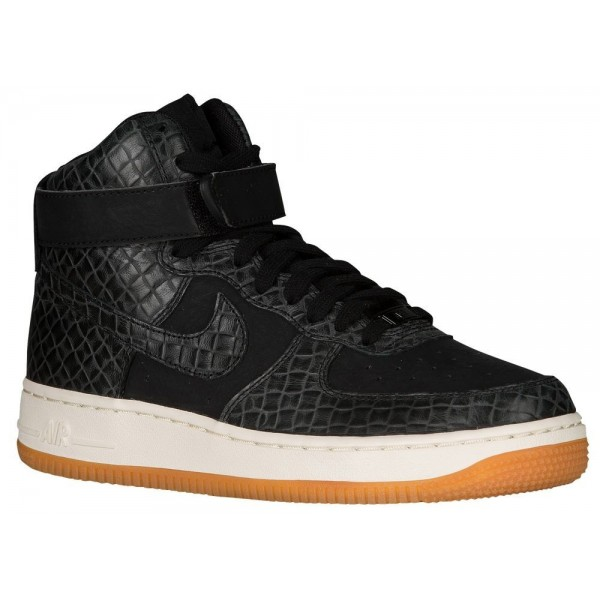 Nike Air Force 1 High Damen-Basketballschuh Schwar...