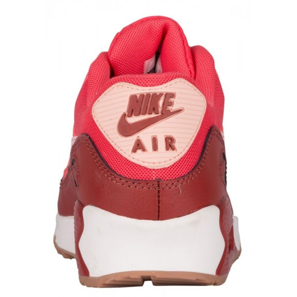 Nike Air Max 90 Damen-Laufschuhe Dunkel Cayenne/Dunkel Cayenne/Ivory