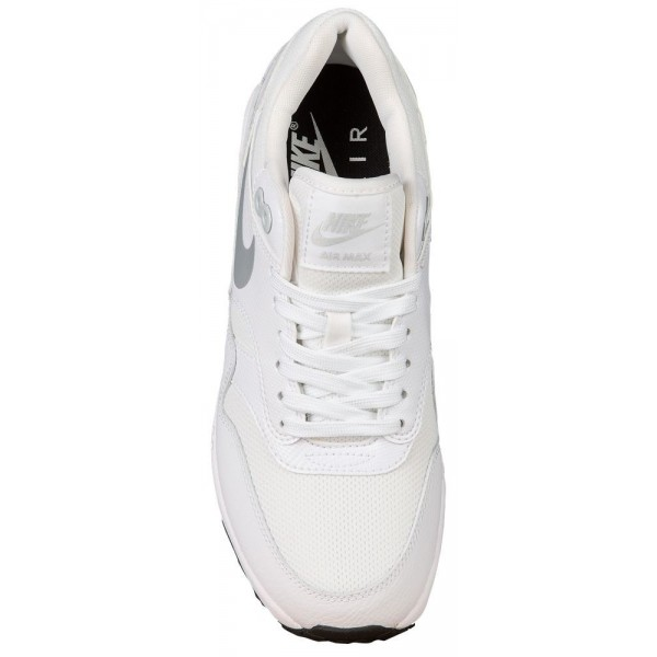 Nike Air Max 1 Ultra 2.0 Damen-Laufschuhe Weiß/Metallic Platinum/Schwarz/Weiß