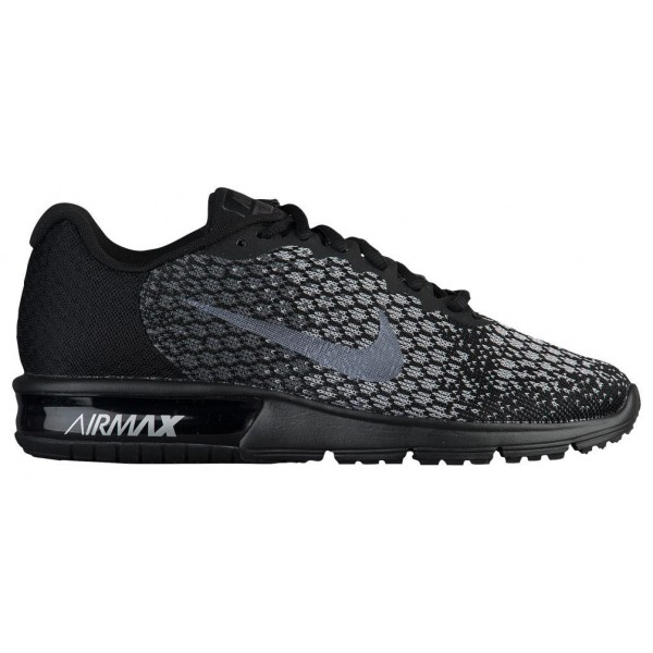 Nike Air Max Sequent 2 Damen-Laufschuhe Schwarz/Me...