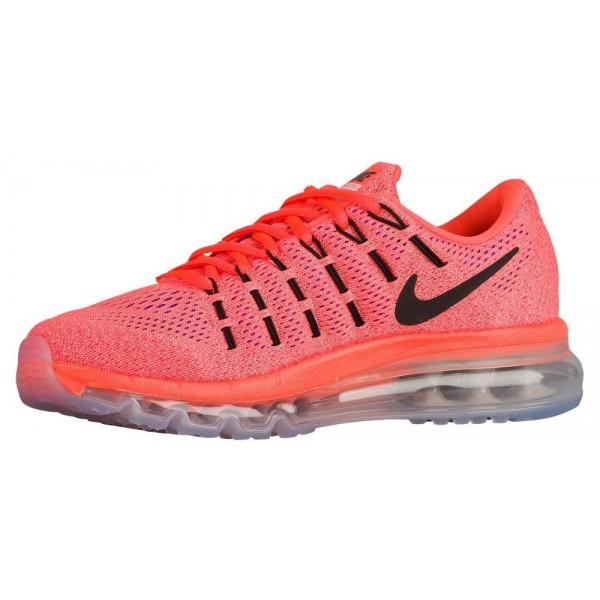 Nike Air Max 2016 Damen-Laufschuhe Hyper Orange/Sunset Glow/Schwarz