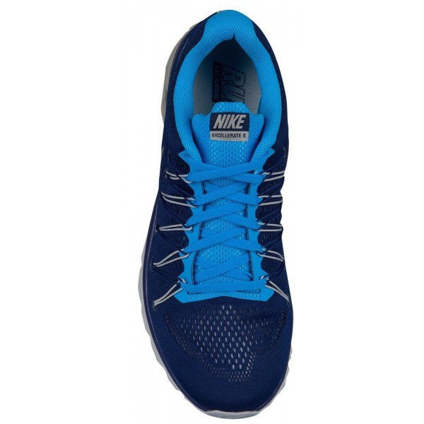 Nike Air Max Excellerate 5 Herren-Laufschuhe Loyal Blau/Blau Glow/Metallic Silber