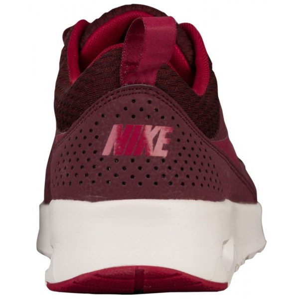 Nike Air Max Thea Damen-Laufschuhe Night Maroon/Noble Rot/Weiß