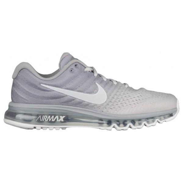 Nike Air Max 2017 Herren-Laufschuhe Matte Silber/W...