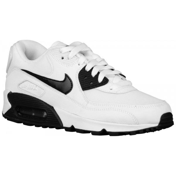 Nike Air Max 90 Damen-Laufschuhe Weiß/Schwarz