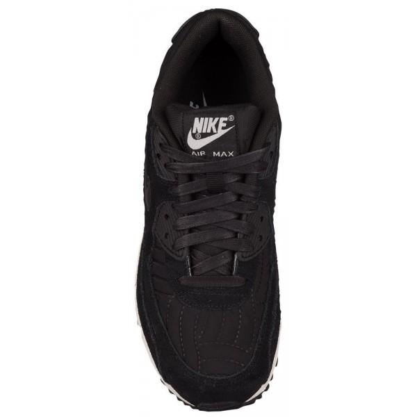 Nike Air Max 90 Damen-Laufschuhe Schwarz/Schwarz/Ivory