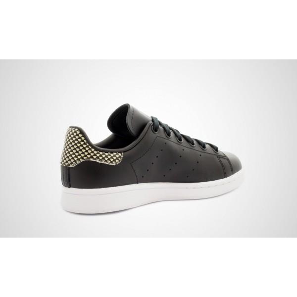 Adidas Stan Smith (Schwarz/Gelb) Core Schwarz/Core Schwarz/Ftwwht S75318