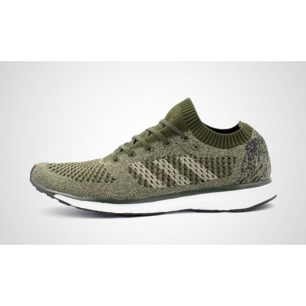 Adidas adizero Primeknit Boost Limited (olive) NIG...