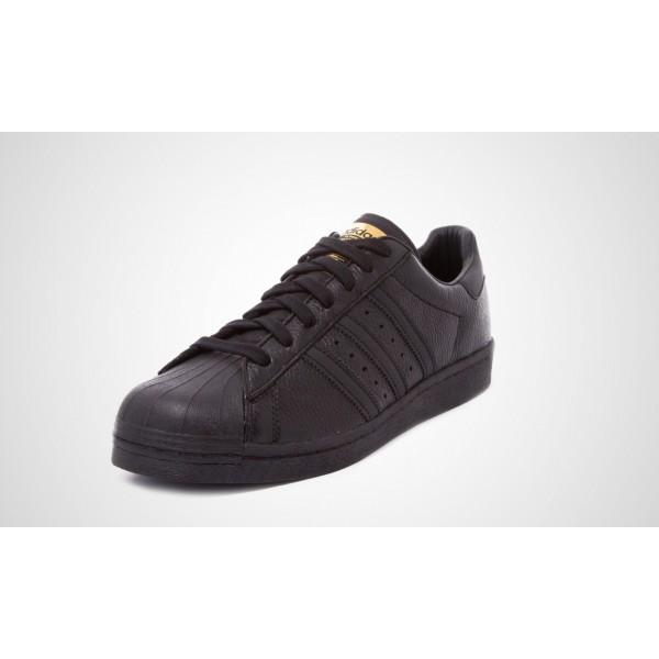 Adidas Superstar Boost (Schwarz) CORE Schwarz/CORE Schwarz/GOLD MET, BB0186