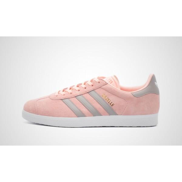 Adidas Gazelle Damen (Rosa/Grau) HAZE CORAL S17/CL...
