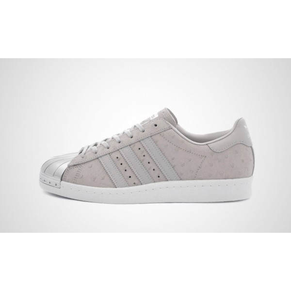 huge selection of afbc6 20b5f Verkauf Adidas Superstar 80S Metal Toe (Grau) CLEAR Grau ...