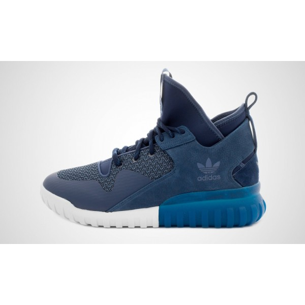 Adidas Tubular X (Blau/Weiß) CONAVY/MNBLU/BRBLUE ...