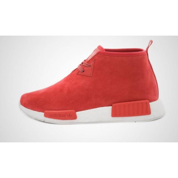 Adidas NMD Chukka (Rot/Weiß) LUSRot/LUSRot/Core Weiß S79147