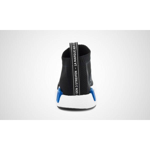 Adidas NMD City Sock Primeknit (Schwarz) Core Schwarz/Core Schwarz/LUSBLU S79152