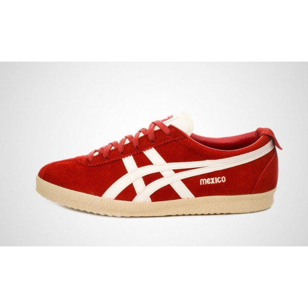 Asics Mexico Delegation (Rot/Weiß) Rot/SHell Wei�...