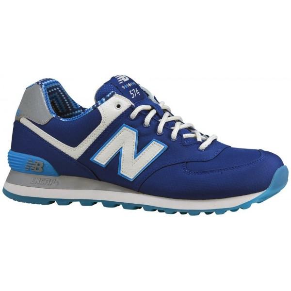 New Balance 574 Herren-Laufschuhe Blau/Weiß