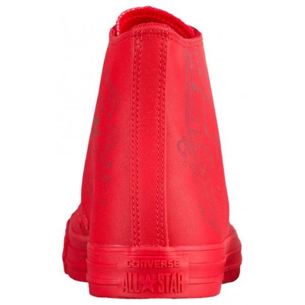 Converse All Star Leather Hi Herren-Basketballschuh Rot