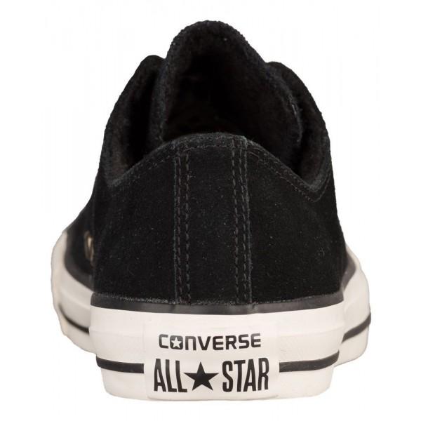 Converse All Star Hi-Rise Ox Damen-Basketballschuh Schwarz/Schwarz/Egret
