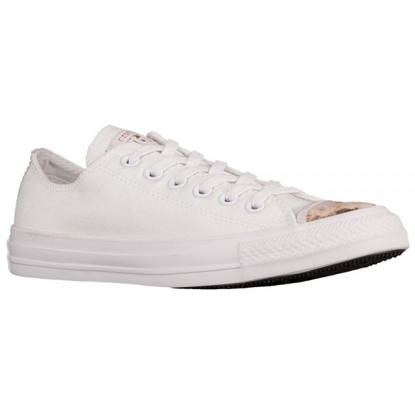 Converse All Star Brush Off Leather Toecap Ox Dame...