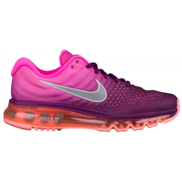 Nike Air Max 2017 Damen-Laufschuhe Bright Grape/We...