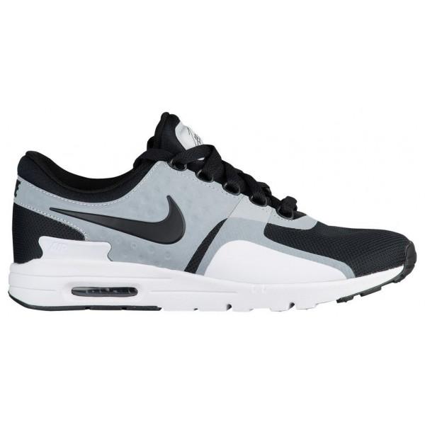 Nike Air Max Zero Damen-Laufschuhe Weiß/Schwarz