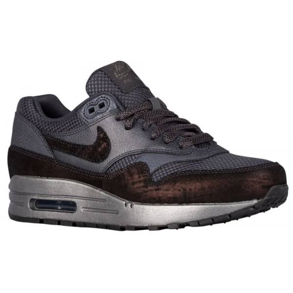 Nike Air Max 1 Damen-Laufschuhe Anthracite/Metalli...