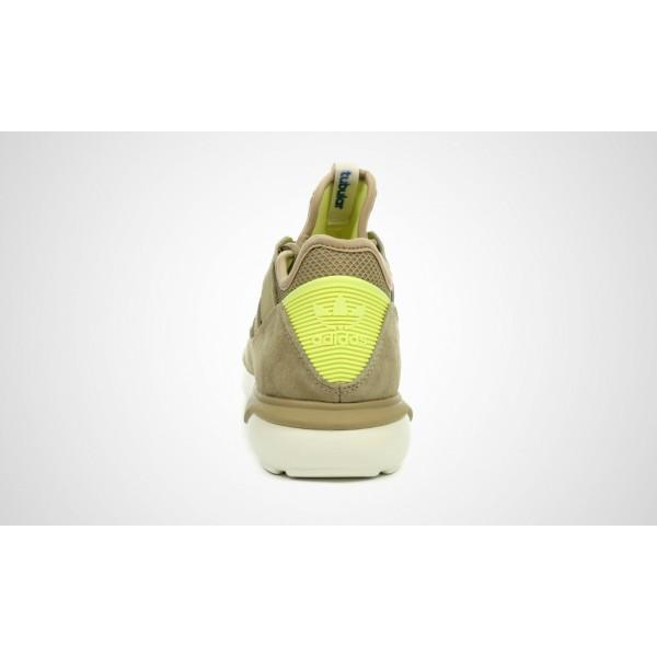 Adidas Tubular Moc Runner (beige/Gelb) HEMP/HEMP/LTFYLE B25788
