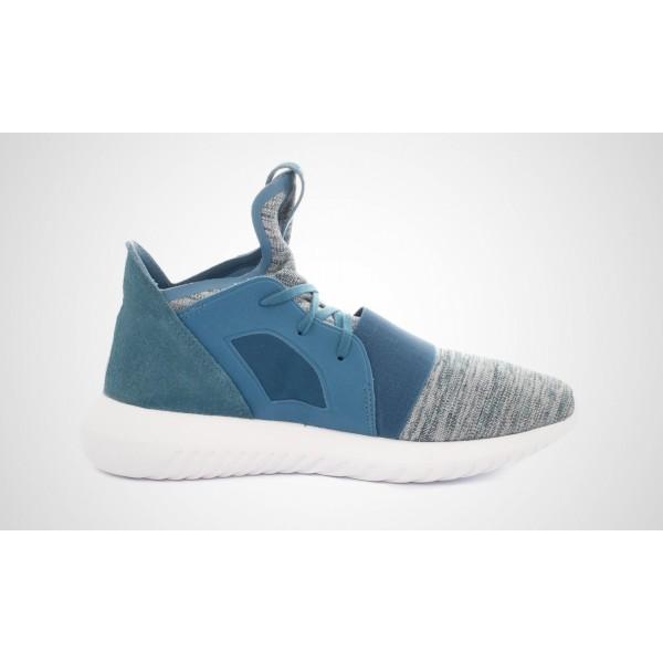 Adidas Tubular Defiant Damen (Blau/Grau) BLABLU/BLABLU/Core Weiß S75254